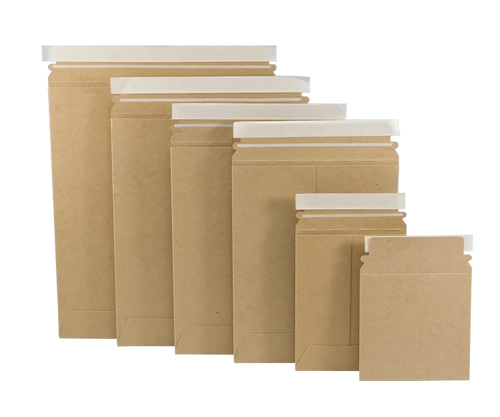 Stayflats Brand 6 x 6 Pack of 200 White BOX USA Self-Seal Stay Flat Mailer