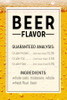 Beer Flavor Ingredients