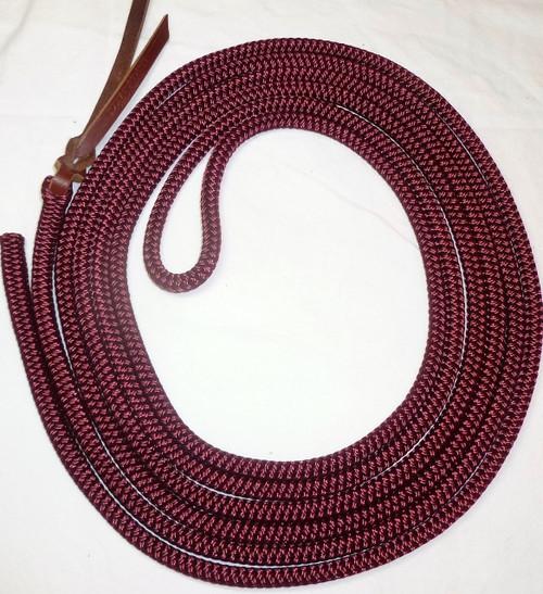14' Burgundy Get Down Rope