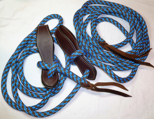 Blue/Brown CH Mecate
