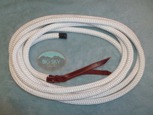 White Treeline Lead Rope