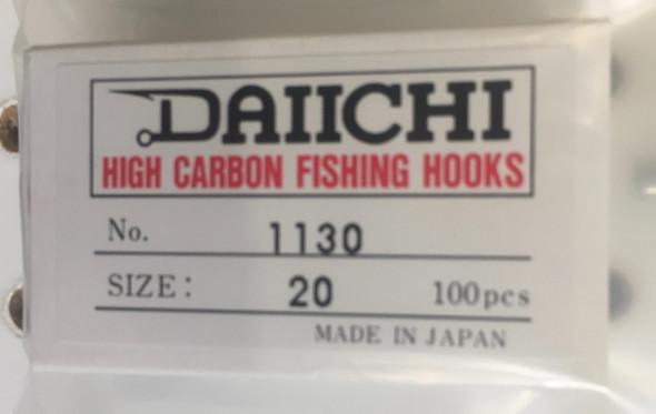 Daiichi 1130 100 Ct. Box Hooks