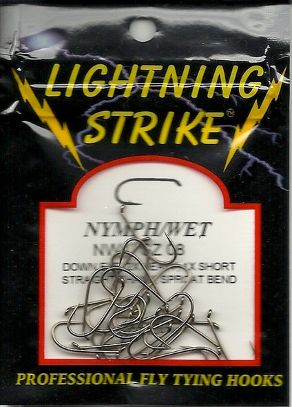 Lightning Strike Nymph/Wet Hook 25 count NW1