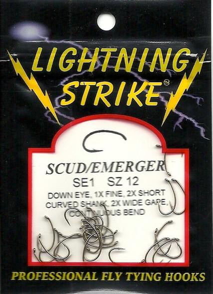 Lighning Strike Down Eye Scud/Emerger 25 count SE1