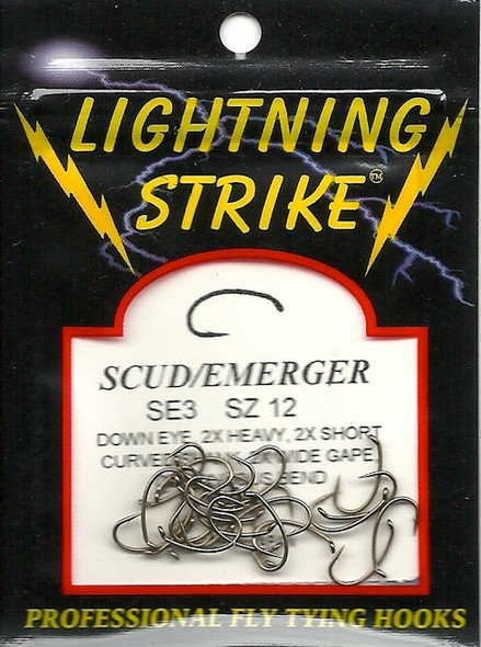 Lightning Strike Scud/Emerger 25 count SE3