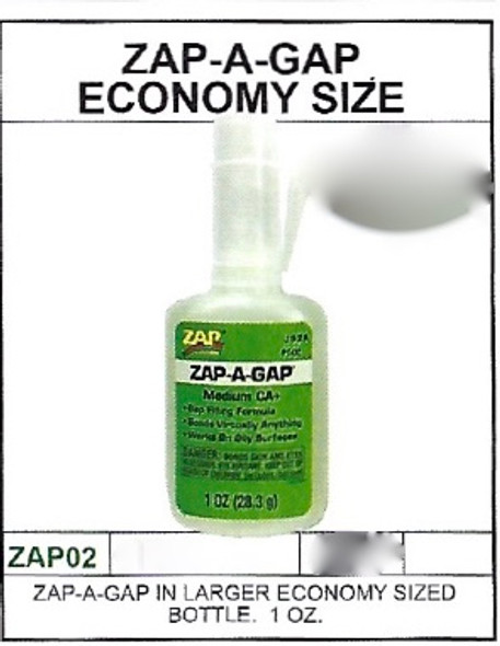 Zap-A-Gap 1 Oz Bottle Medium CA