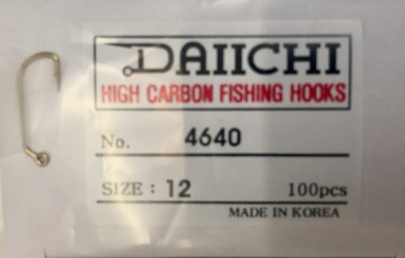Daiichi 4640 Competition Jig Hook W/Barb