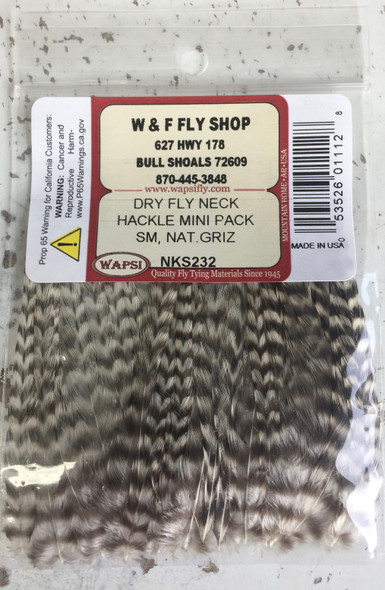 Small Dry Fly Hackle Keough NKS
