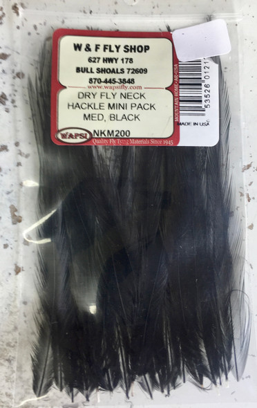 NKS  Keough MediumDry Fly Hackle roughly 24 per package.