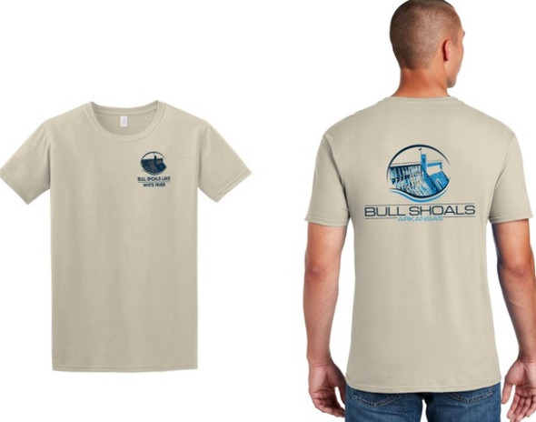 Bull Shoals T-Shirt in Sand