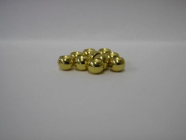 Gold Brass Beads Cyclops