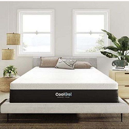 Classic Brands Cool Gel and Ventilated Memory Foam 12-Inch Mattress (Medium-Plush Feel)