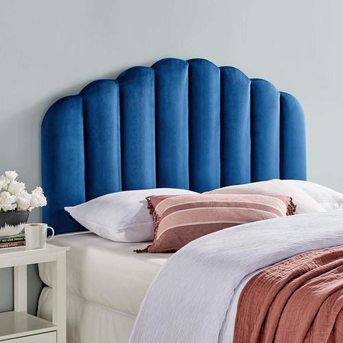 Modway Veronique Channel Tufted Velvet Upholstered