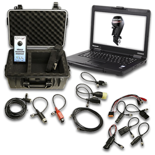CanDoo Pro Marine Diagnostic Laptop Package