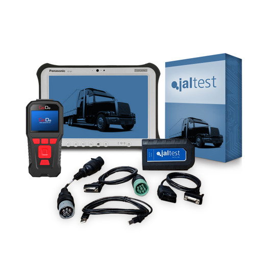 Jaltest Universal Diesel and Heavy Duty Truck Diagnostic Tablet Package