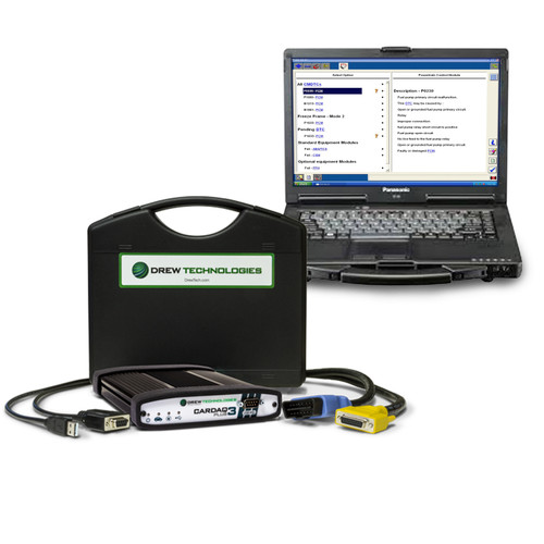 Cardaq Plus 3 Toughbook Package Re-programmer