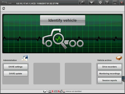 PACCAR Davie4 Diesel and Heavy Duty Diagnostic Software License (Initial Purchase)