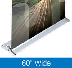 "SilverStep 60"" Retractable Banner Stands"