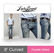 8' Curved EZ TubeDouble Sided