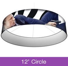 12ft Circle Hanging Sign