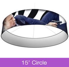 15ft Circle Hanging Sign