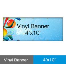 Vinyl Banner 4'x10'
