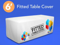 6ft Fitted Table Cover