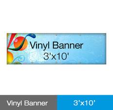 Vinyl Banner 3'x10'
