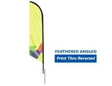 Feather Flag Angled