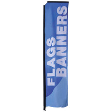 Rectangle Flags 15ft Medium