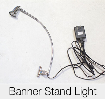 Banner Stand Plug In Lights