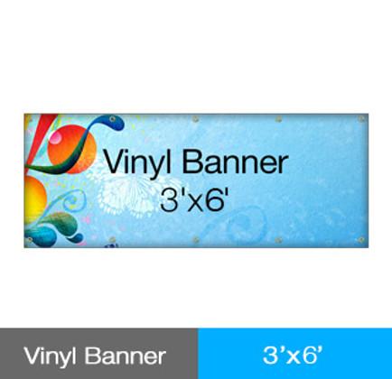 Vinyl Banner 3' x 6'