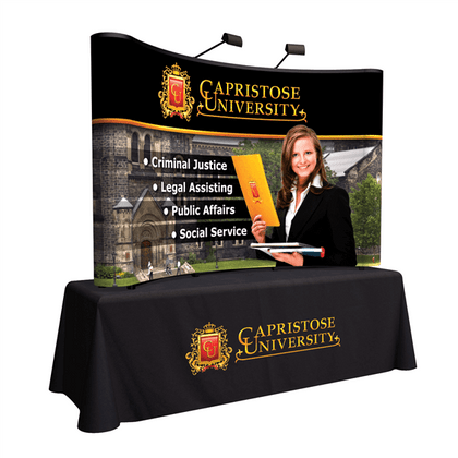 8ft Table Top PopUp Display
