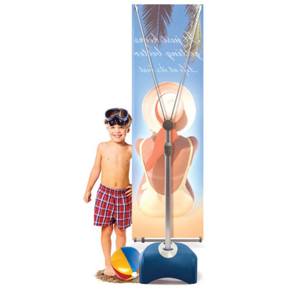 Zephyr Banner Stand Single-Sided