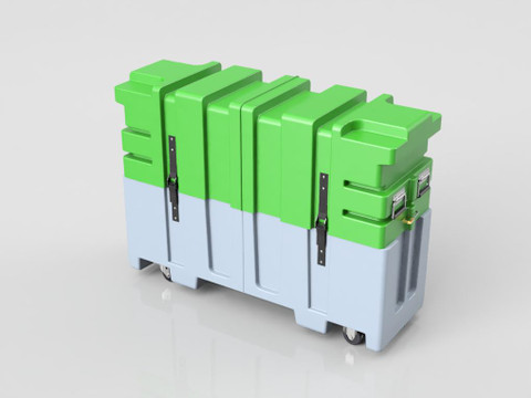 32-50 Monitor Case - Single