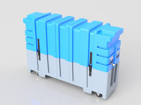 43-60 Monitor Case - Dual