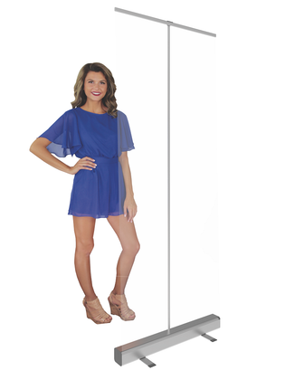 33x80-inch-Mosquito Retractable Banner Stand Shield