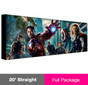 20ft ReadyPop Fabric Display - Straight