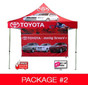 10ft Expo Event Tent Pkg #2