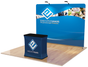 One Choice 10ft EZ Tube Display With Demo Counter