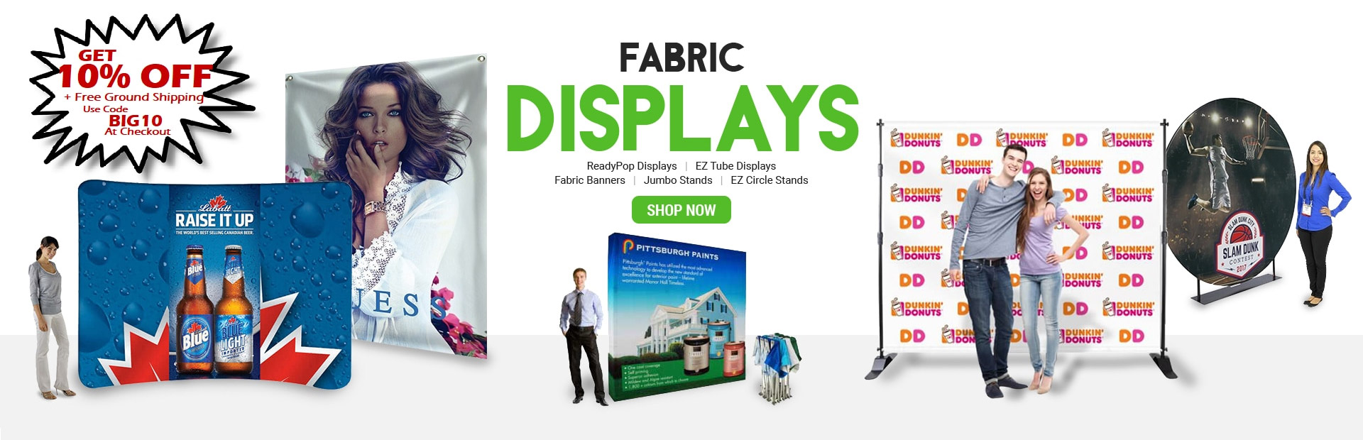 pop-up readypop tension fabric backdrop display step and repeat marketing advertising branding events