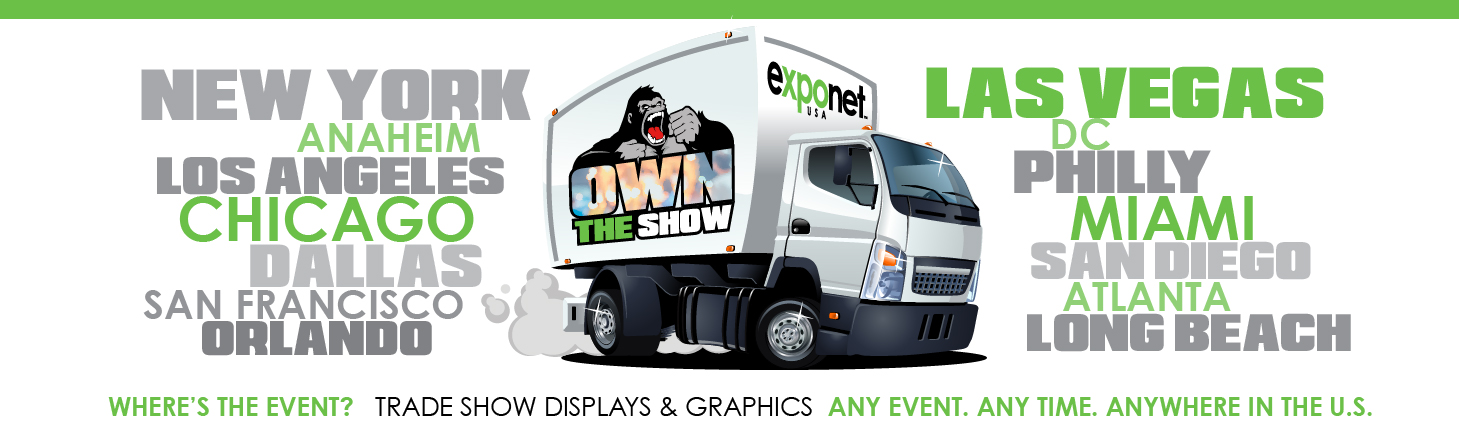 trade show displays and graphics
