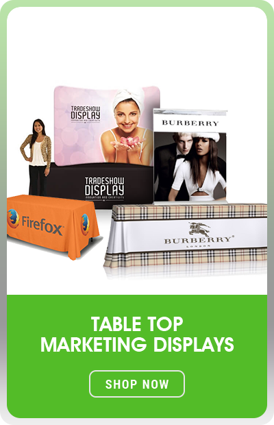 Table top Marketing Displays