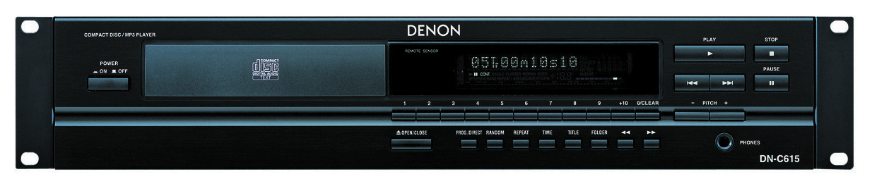 CD PLAYER - DENON - DNC615