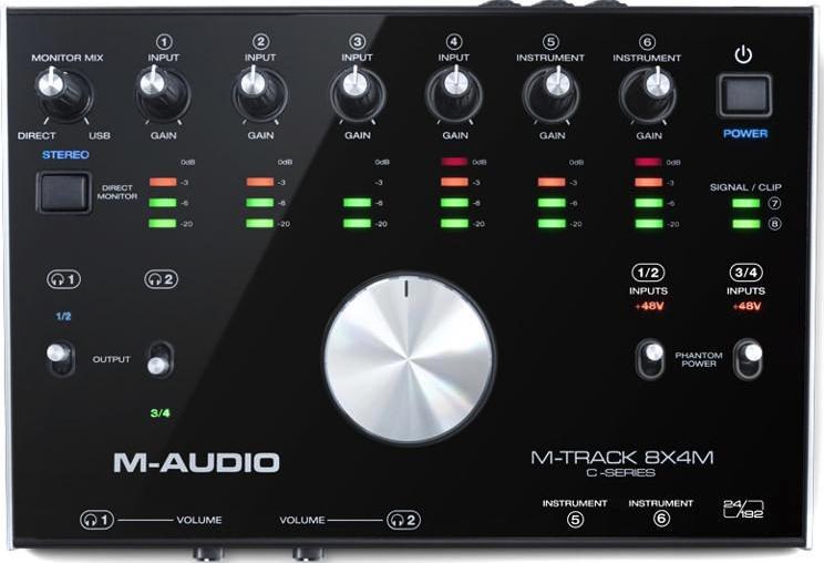 M-Audio M-Track 8X4M - Spare Parts