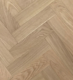 350 mm x 70 mm Herringbone Oak Prime Unfinished