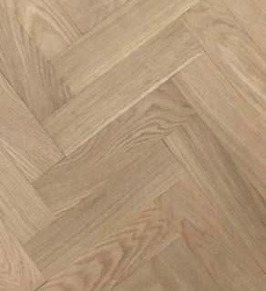350 mm x 70 mm Herringbone Oak Prime Unfinished