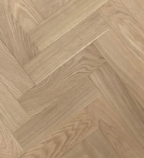 280mm x 70 mm Herringbone Oak Prime Grade Unfinished
