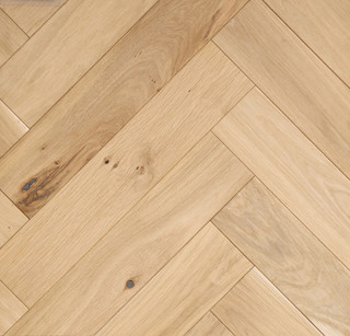 500mm x 100mm Herringbone Rustic Micro Bevel Unfinished