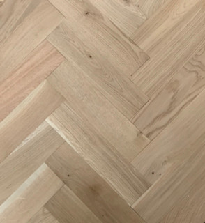 280mm x 70mm Wide Herringbone Rustic Grade Unfinished